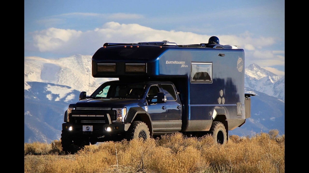 In 2018 Ford Earth Roamer Xv-lts Camper Concept