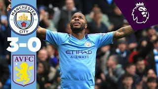 HIGHLIGHTS | Man City 3-0 Aston Villa | Sterling, De Bruyne, Gundogan