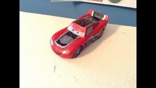 Disney Cars Race-o-rama Beach McQueen Custom Review