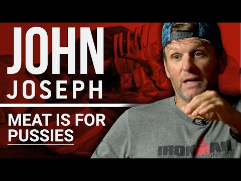 JOHN JOSEPH - MEAT IS FOR PUSSIES | London Real