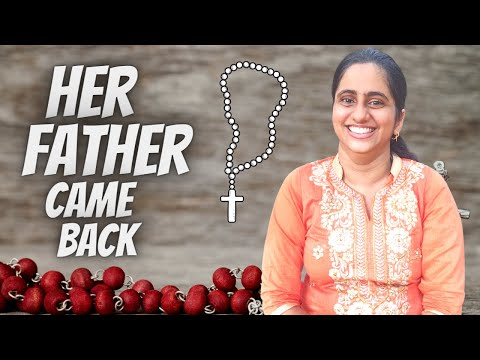 POWERFUL TESTIMONY of the ROSARY || How her Father came back ( Richelle Anchan )