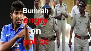 जयपुर पुलिस द्वारा पाकिस्तानी बैनर के इस्तेमाल पर भड़के जसप्रीत बुमराह....