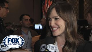 Jennifer Garner talks Ben Affleck/Tom Brady love affair and 'Draft Day'