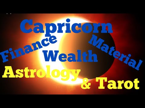 Capricorn Financial & Material Wealth Can Increase In This Solar Eclipse February 2018