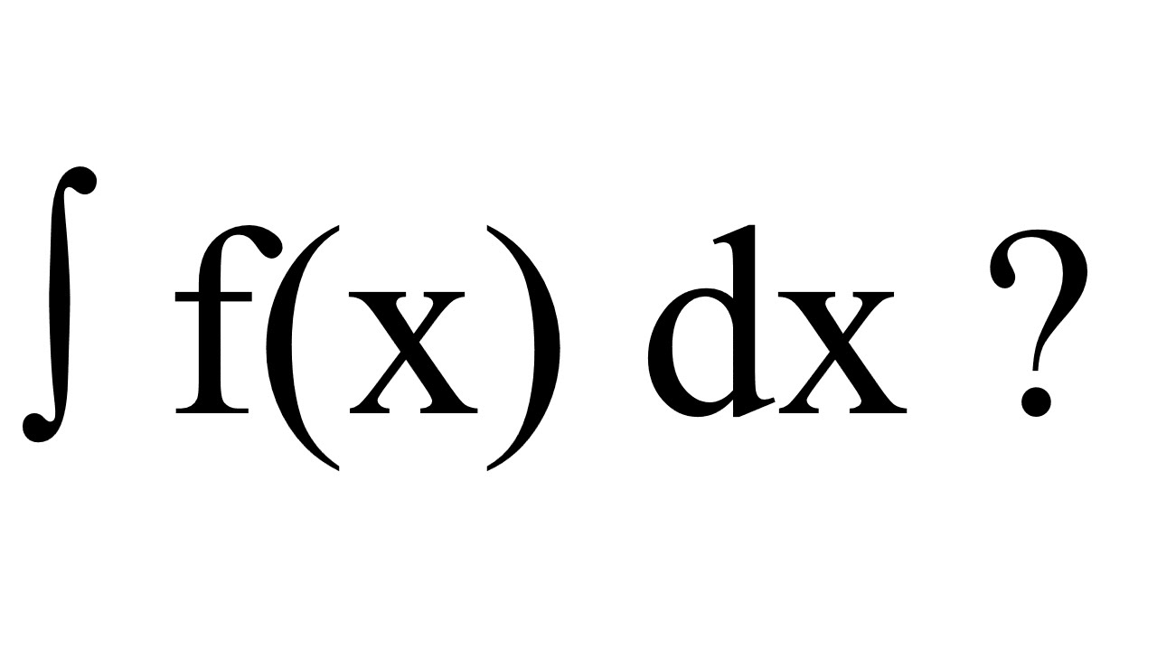 how to read calculus symbols