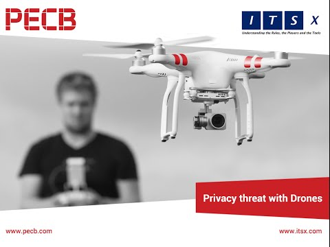 Privacy threat with drones