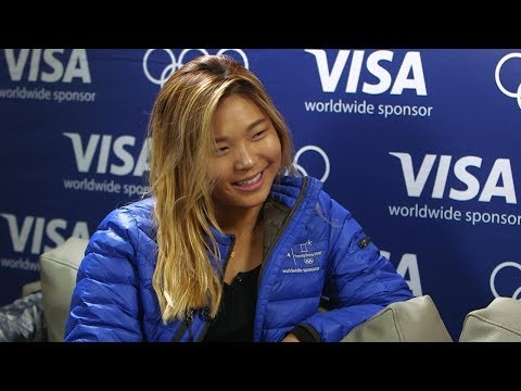 How Olympic gold medalist Chloe Kim plans to celebrate her win