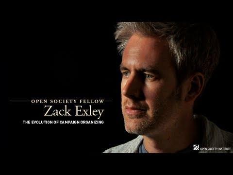 Open Society Fellow Zack Exley