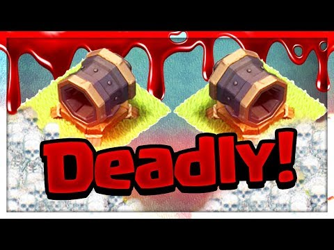 BLASTED! Giant Cannon vs. Every Troop in Clash of Clans Builder Hall!