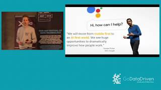 Google Developers Group Meetup during GoDataFest