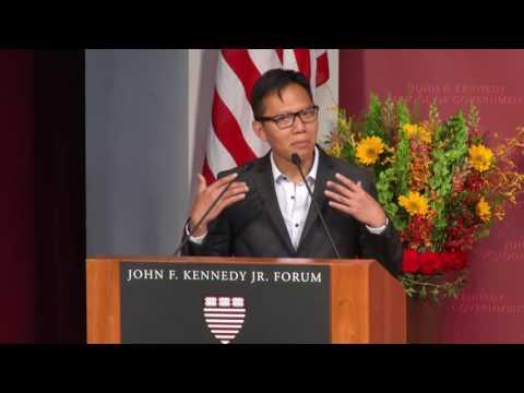 2016 Harvard Kennedy School MPA ID Class Speaker Rivandra Royono
