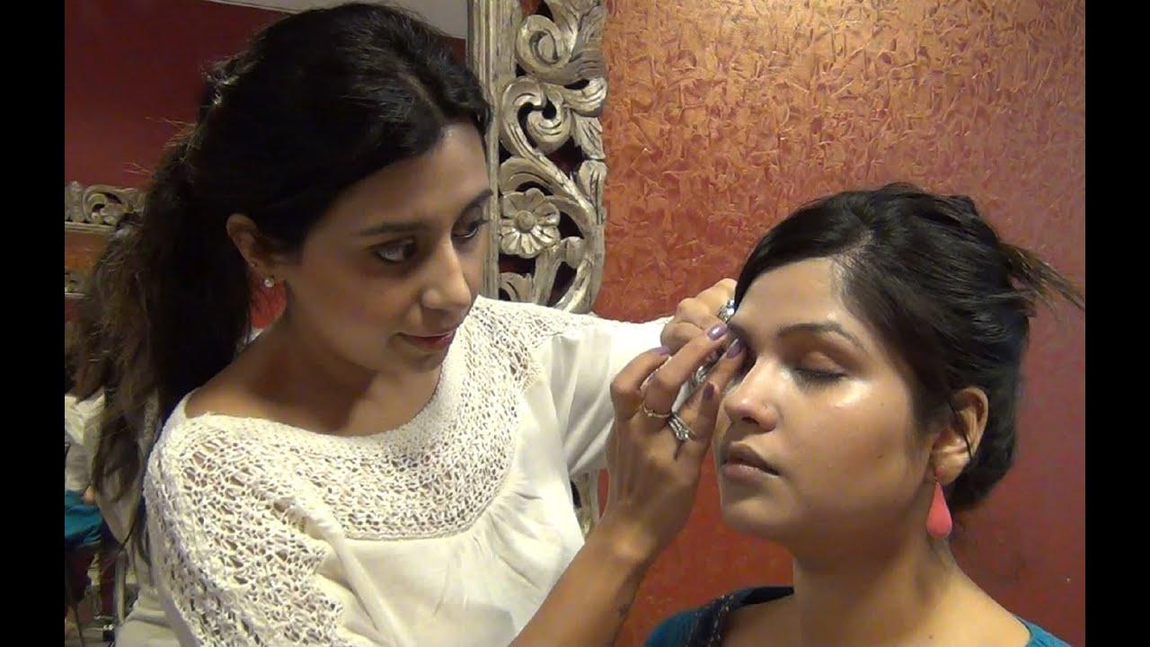 Indian Makeup tutorial video - Makeup for mature skin ...