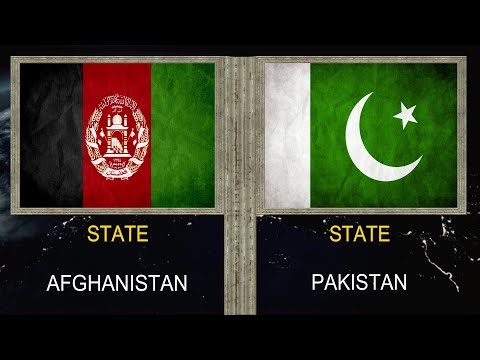 Afghanistan vs Pakistan - Army Military Power Comparison 2020