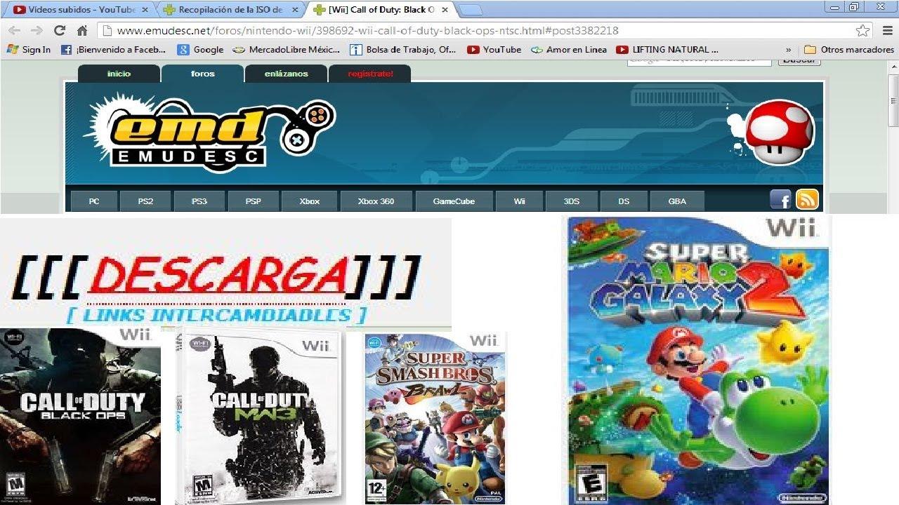 La Mejor Pagina Para Descargar Juegos De Wii 2013 Youtube