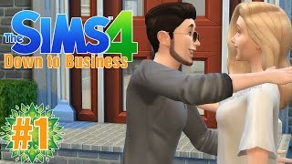 "The Beginning! ""The Sims 4 Get to Work"" (Down to Business) Ep.1"