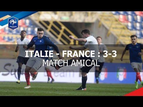 U19 : Italie - France (3-3), le résumé