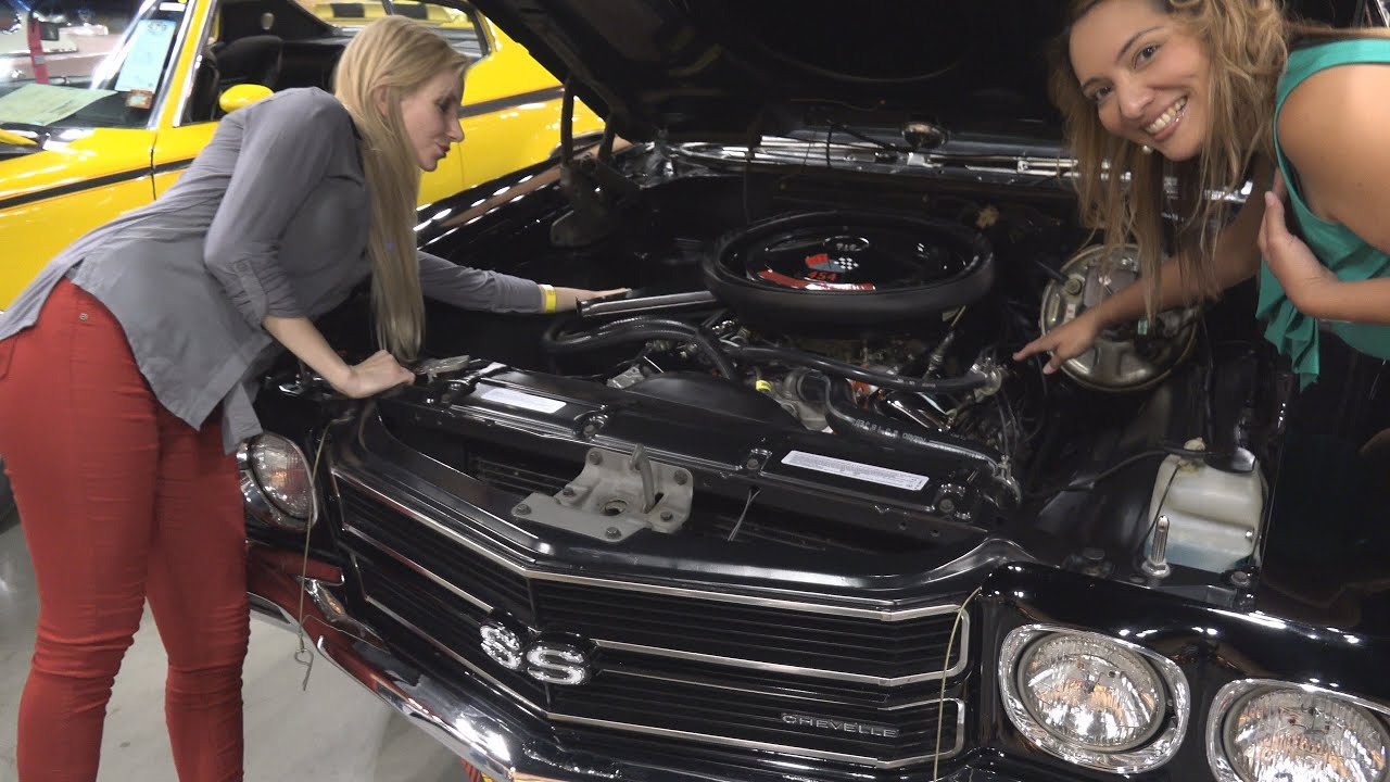 2016 Chevelle Ss >> RARE 1970 Black Chevelle SS - With COWL INDUCTION & TWO SPOKES MODELS - YouTube