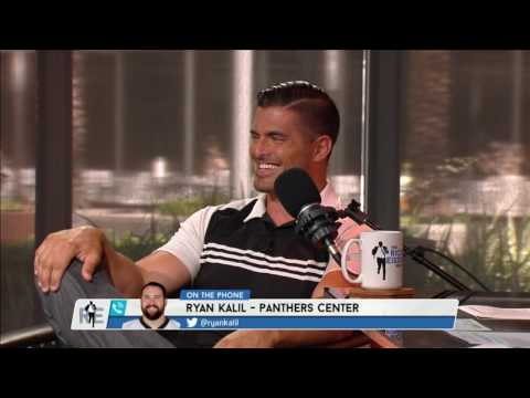 Panthers C Ryan Kalil Shares Memories with NFL Network Analyst David Carr on The RE Show - 7/18/16