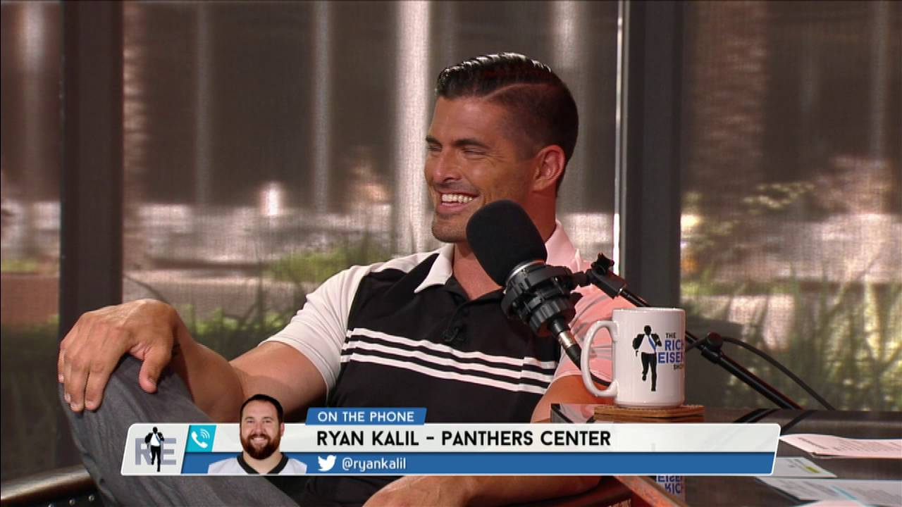 Panthers C Ryan Kalil s Memories with NFL Network Analyst