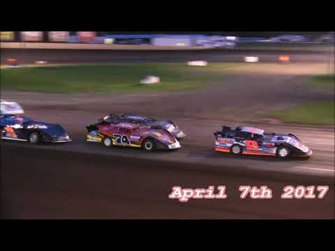 2017 Pro Crate Late Model Action From Farmer City Raceway
