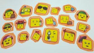 Emoji Meslekleri Sözlüğü - Funny Slime Challenge Videos - Vak Vak TV