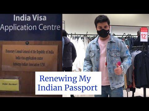 Renewing My Indian Passport In Belgium | Antwerp Vlog | The Authentic Indians Vlogs