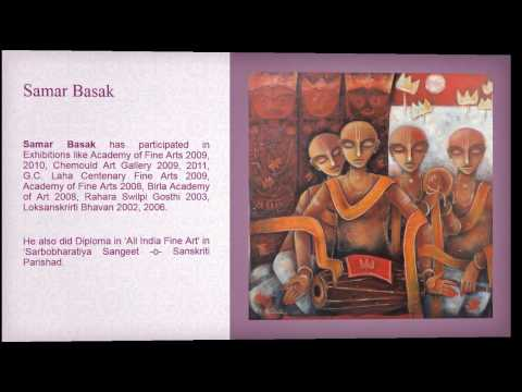 Indian Artists and their famous paintings by Emami Chisel Art