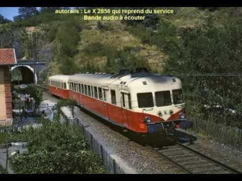 Image Description of : Autorail X 2800 - Bande son -voyage de 8 minutes
