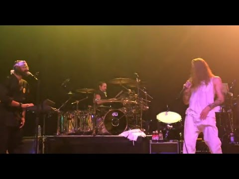 Incubus covered Michael Jackson's song Thriller at the Fonda Theater in Los Angeles,