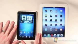 T-Mobile HTC Flyer Hardware Comparison Tour | Pocketnow