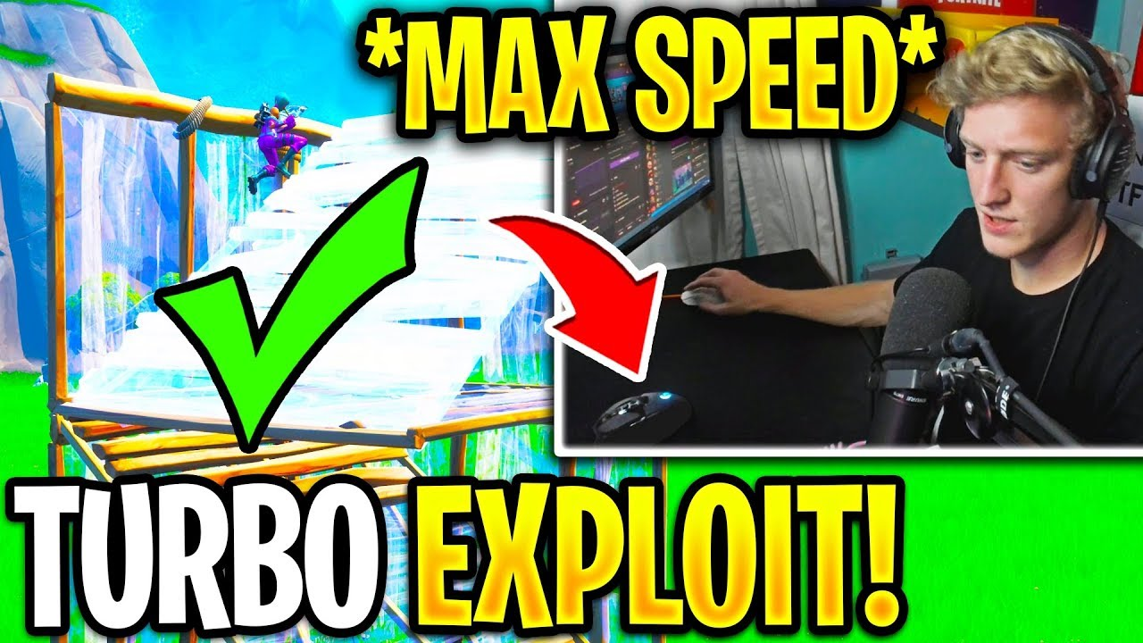 TFUE *NEW* Turbo Build EXPLOIT for *MAX SPEED* Building AFTER Nerf! (Fortnite) thumbnail