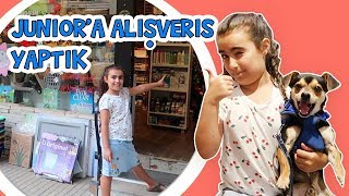 Mira and her dog at pet shop, puppy videos, shopping for pincher