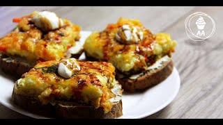 EASY Breakfast Idea Recipe, OMELET in the Oven, Рецепт Легкого ЗАВТРАКА, ОМЛЕТ в Духовке БЫСТРО
