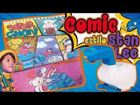 COMO HACER UN COMIC CON SMART SKETCHER AL ESTILO STAN LEE