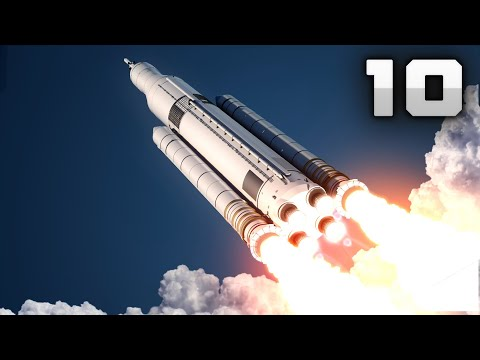10 MOST POWERFUL Space Rocket Launch Ever! [4K]