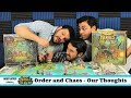 Heroes of Land, Air, and Sea: Order and Chaos Expansion - Our Thoughts (Board Game)
