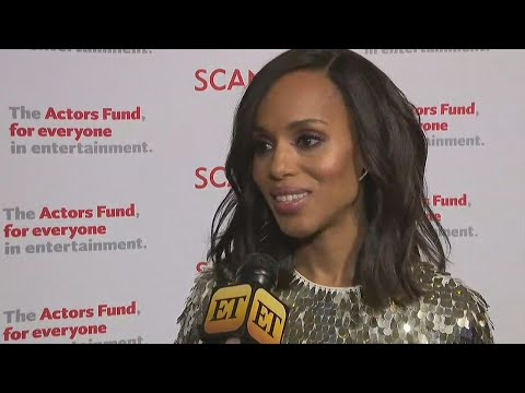 Watch Kerry Washington's Adorable Reaction to Meghan Markle Saying She's Her Girl Crush! Exclusi…