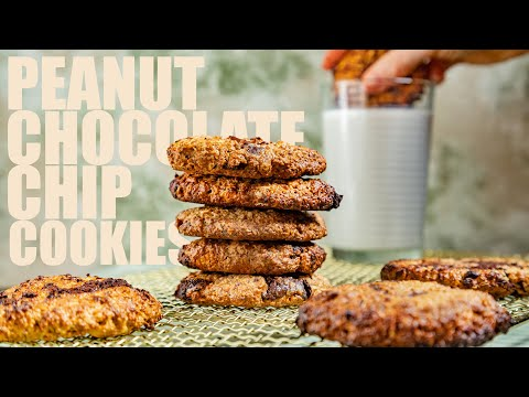 easy-vegan-oatmeal-cookie-recipe-|-peanut-butter-&-chocolate-chip