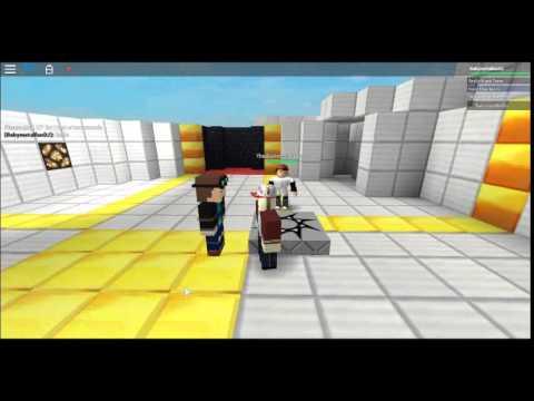 Meeting Dantdm In Roblox Youtube