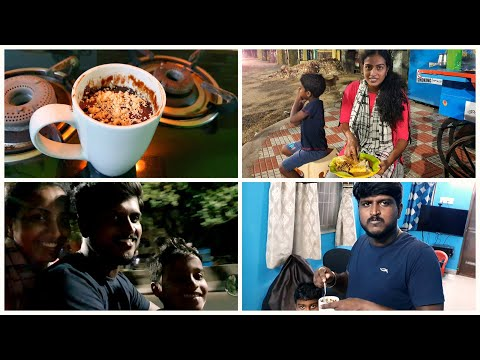 எப்படி இருந்த ஊரு இப்படி ஆயிடுச்சி| Night 12'0 clock outing in chennai| Chocolate mug cake||