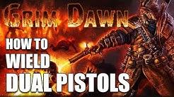 GRIM DAWN: How to Dual Wield Pistols (Gunslinger Builds - Gunslinger Talisman Crafting)