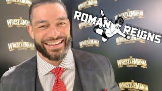 Roman Reigns on Simone Johnson WWE Signing, Brock Lesnar, Super Bowl LIV and Kobe Bryant's Passing
