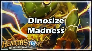[Hearthstone] Dinosize Madness