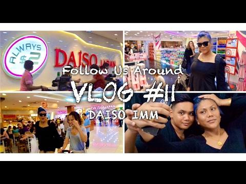 Vlog #11   Follow Us Around Daiso IMM ft Adli Dawson & Fidyana Hasan Part 1   IkinMan