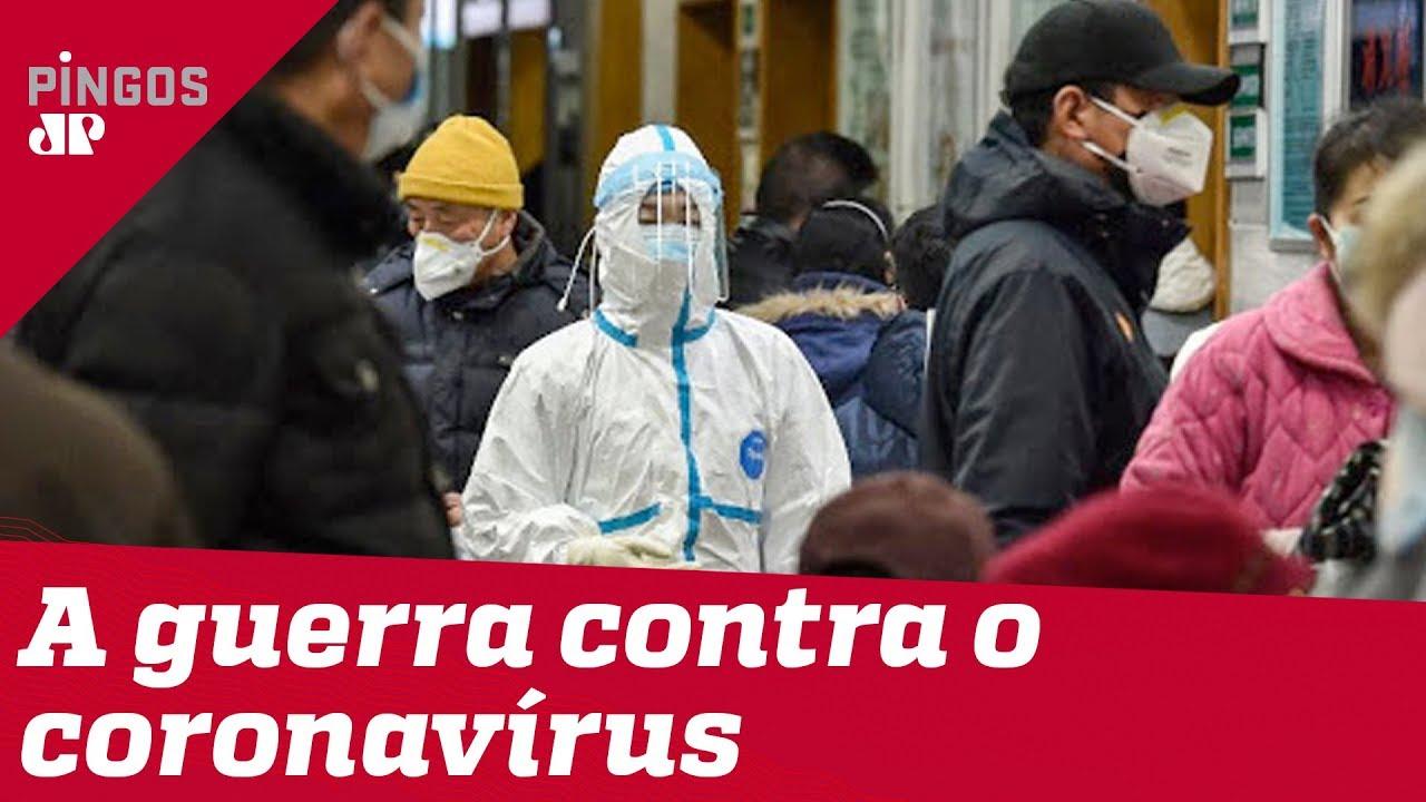 Brasil trava guerra contra o coronavírus
