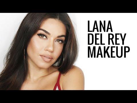 Lana Del Rey Inspired Makeup Tutorial | Eman