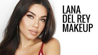 Lana Del Rey Inspired Makeup Tutorial   Eman