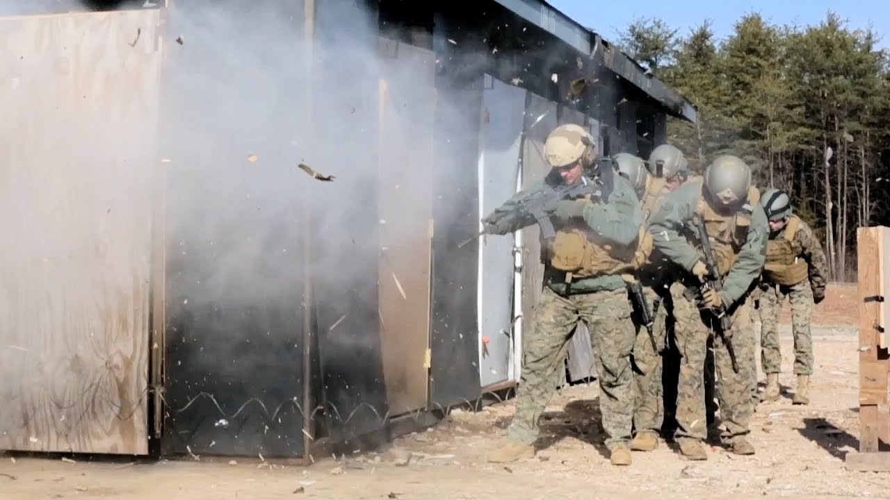 US Marines • Water Charge Explosions • Methods of Entry School 💥💥💥