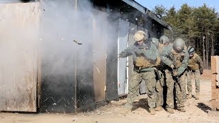 Marines Conduct Water Charge Explosions