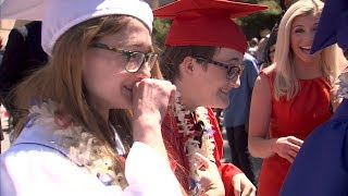 FOX5 Surprise Squad: Homeless Triplets Defy Odds Then Pulled from Graduation After Getting Diplomas thumbnail